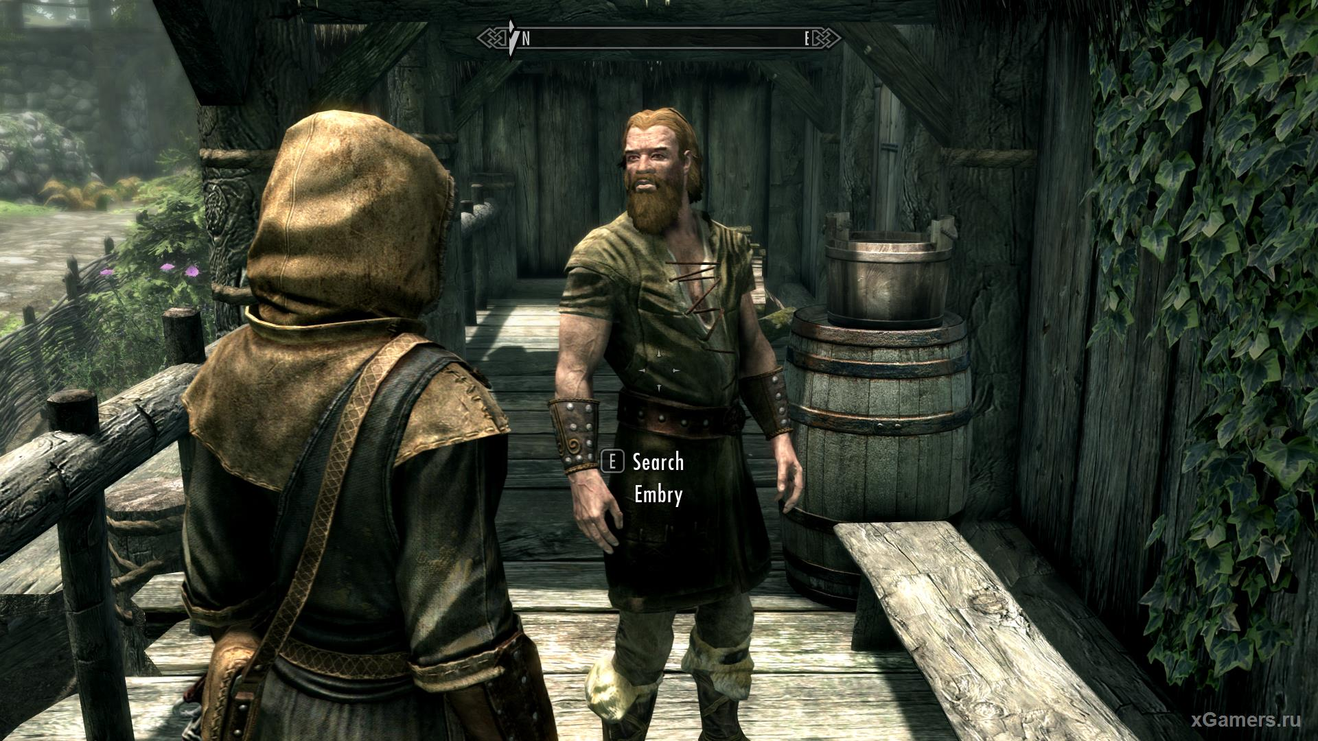 Resurrecting characters using a cheat in the game Skyrim