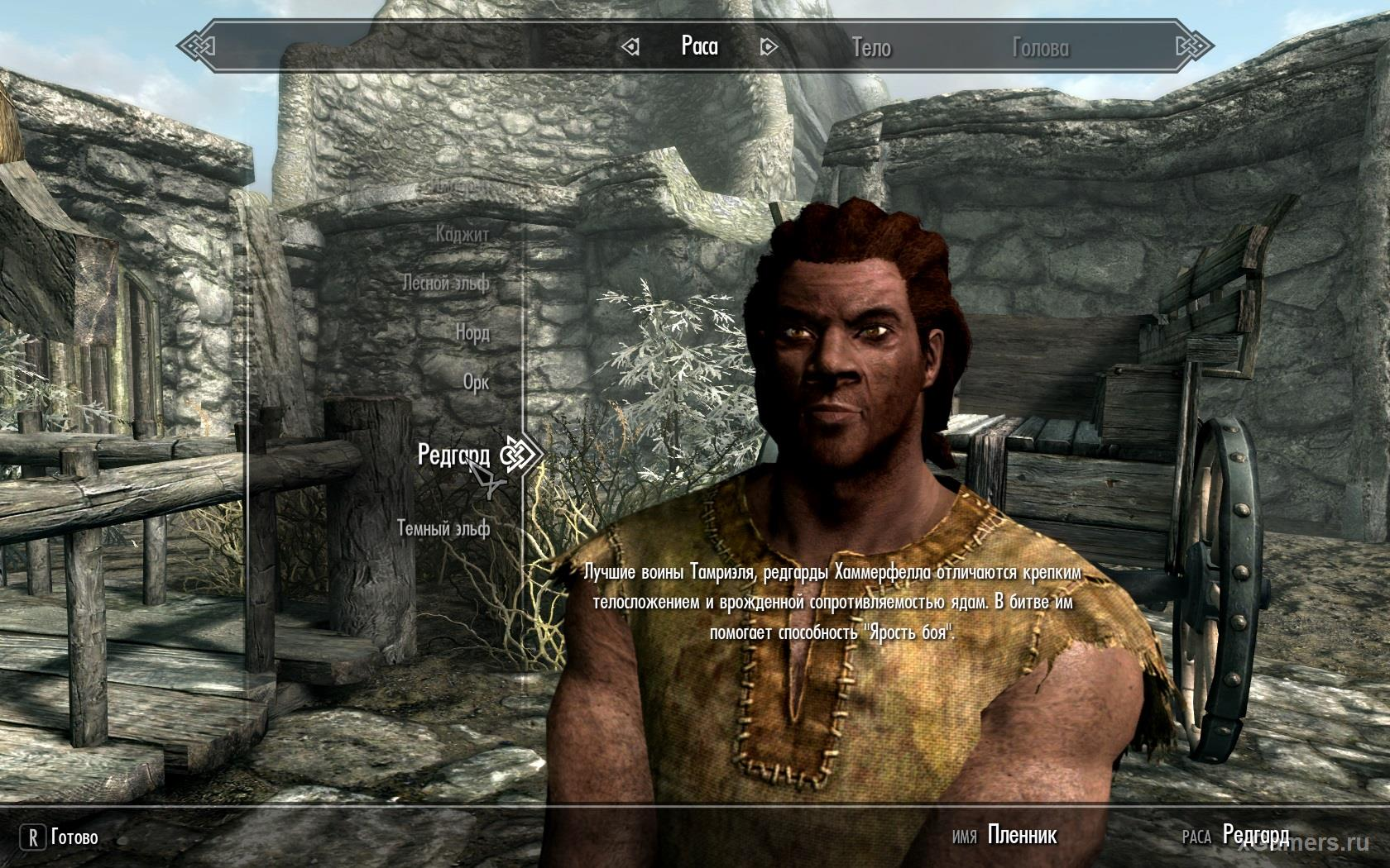 Race - Redguards can be turned into a warrior, and a mage, and combine - Skyrim