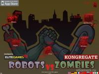 Robots vs Zombi - flash game online free