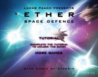Ether Space Defense - flash game online free