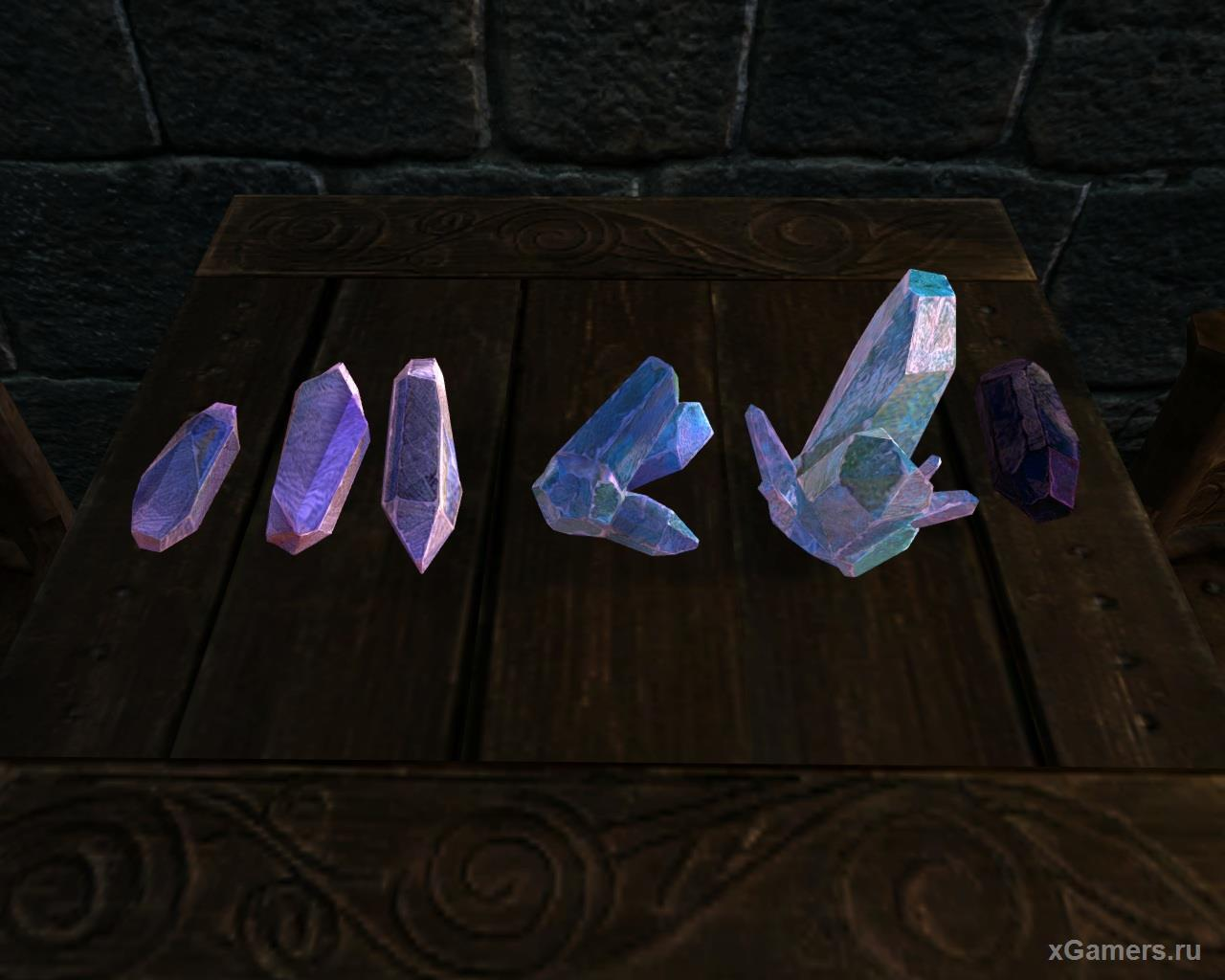 Skyrim Soul gem: Tiny to Black