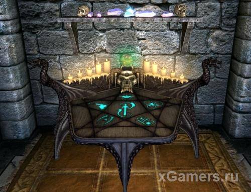 Skyrim item enchantment table