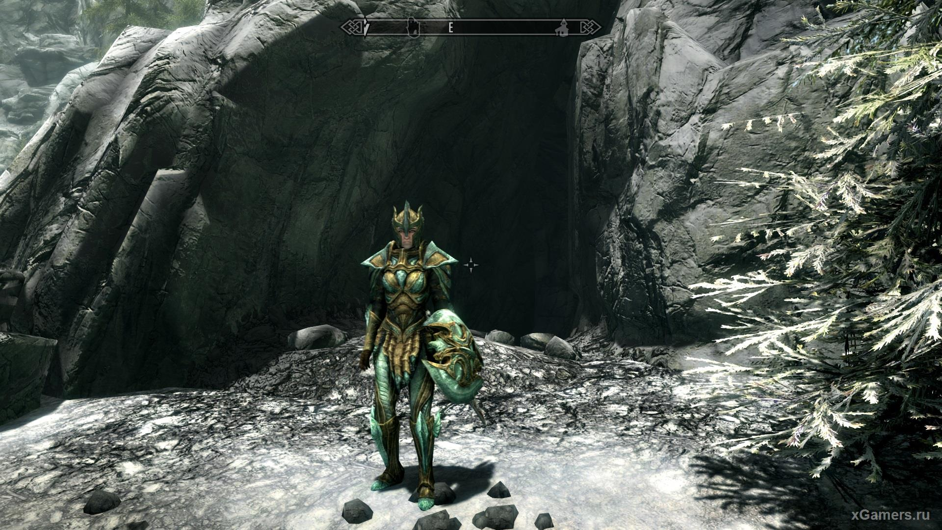 Skyrim glass armor is available upon reaching level 30