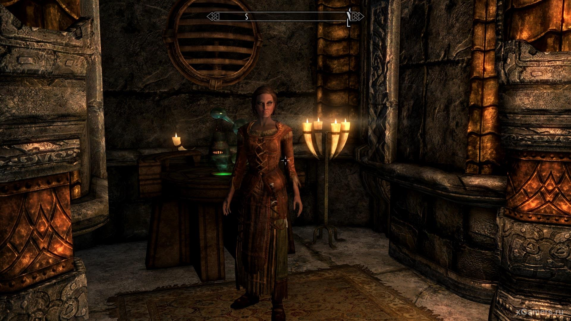 Lydia - the owner of dark hair - an excellent companion of Dovakin