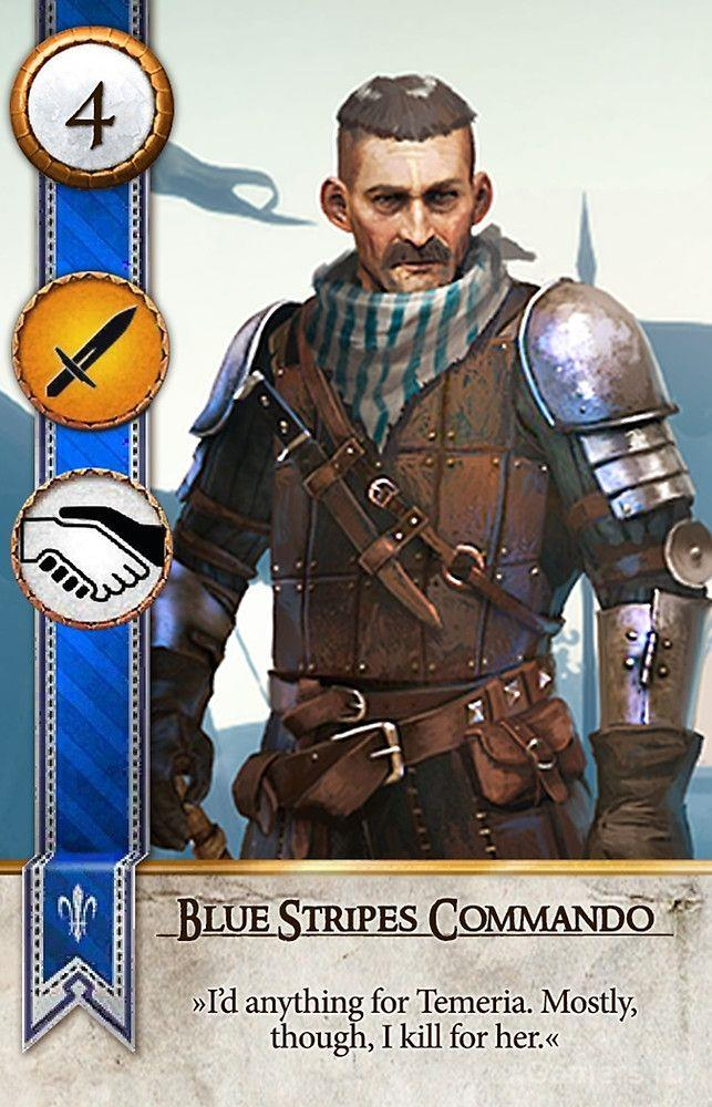 Blue Stripes Commando Gwent Withcer 3