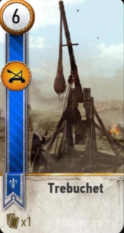 Trebuchet card in The Witcher 3