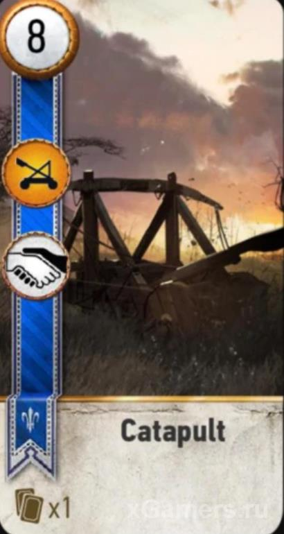 Catapult - Gwent Cards