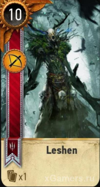 Leshen - Gwent Cards