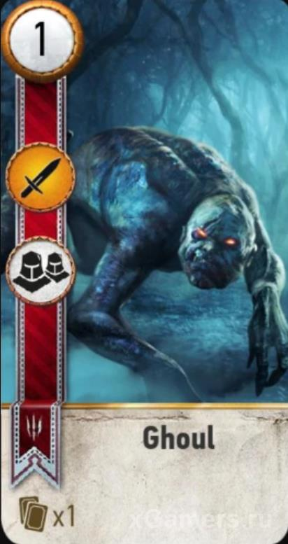 Ghoul - Gwent Cards