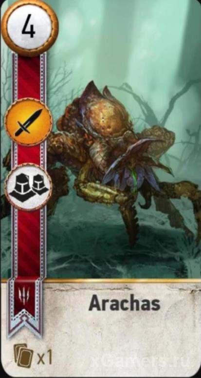 Arachas - Gwent Cards Witcher 3
