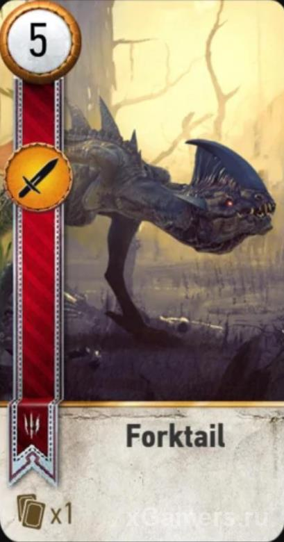Forktail - Gwent Cards