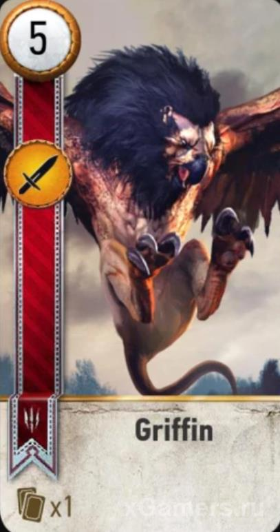 Griffin - Gwent Cards
