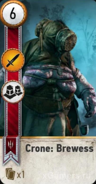 Crone: Brewess - Gwent Cards