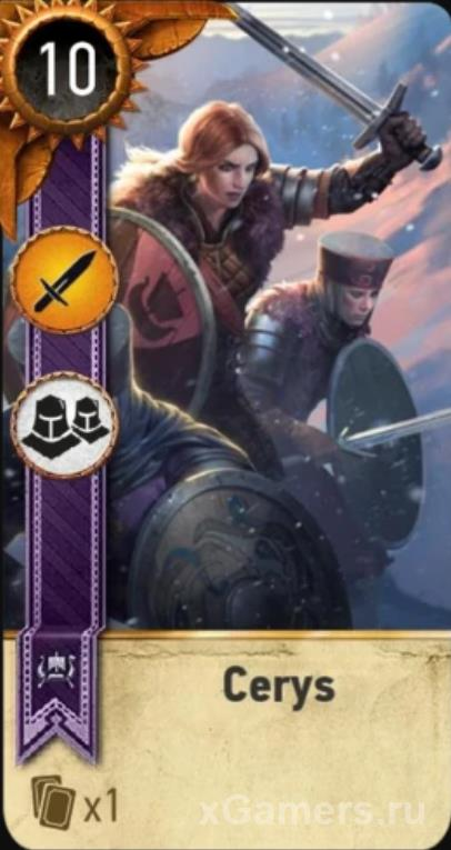 Cerys - Gwent Cards