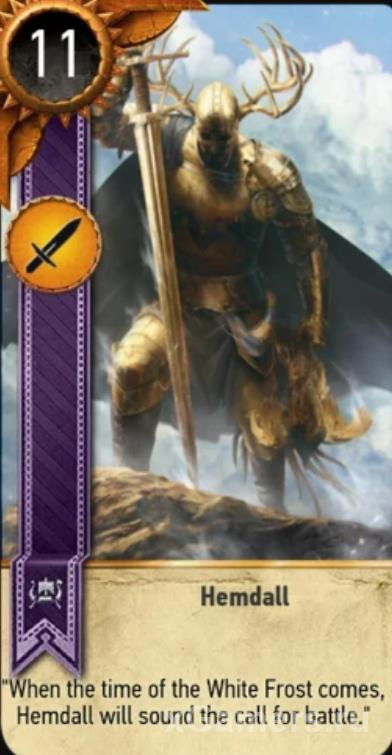 Hemdall - Gwent Cards