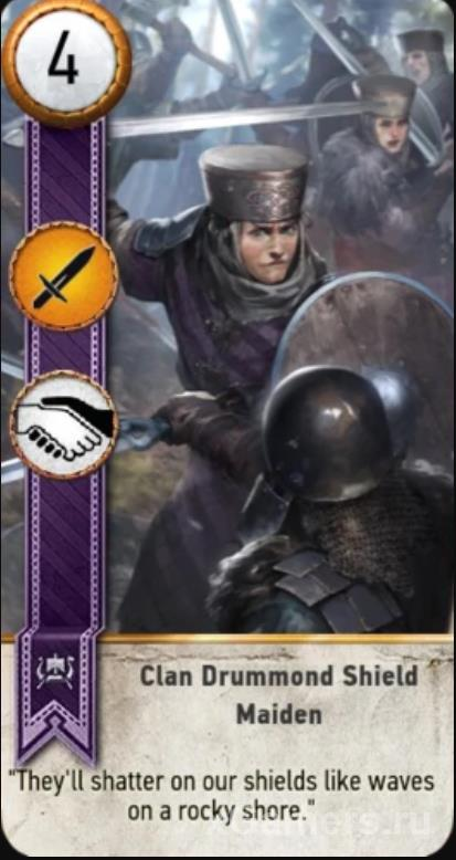 The witcher 3 Gwent Cards