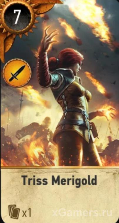 Triss Merigold - Gwent Cards