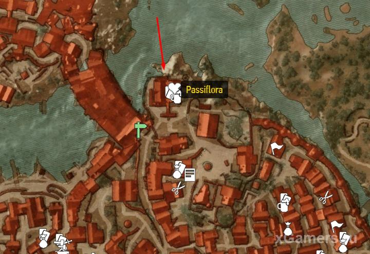 Location where card - Morvran Voorhis