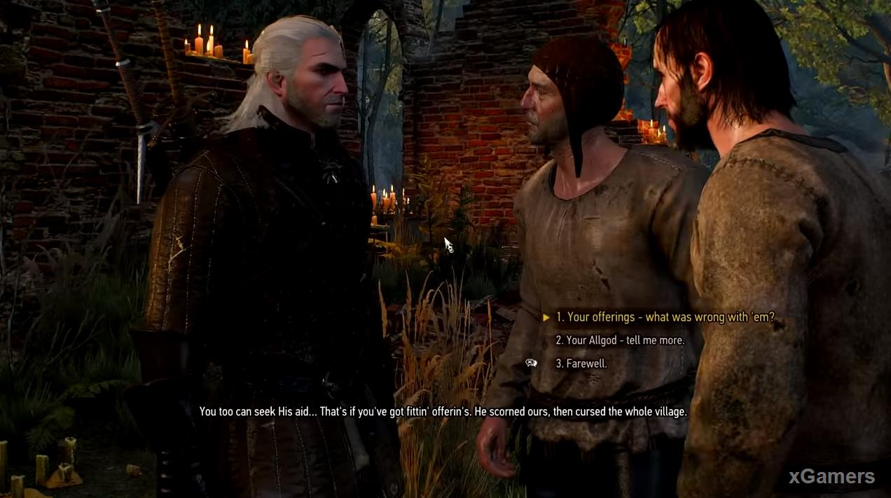 Geralt listen short story that (Allgod) - worshipped for generations