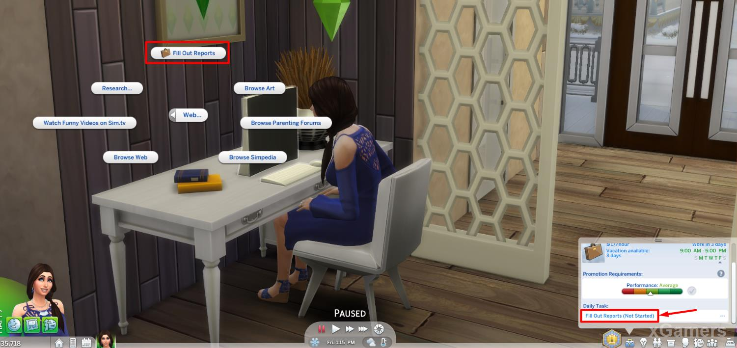 Career advancement - Sims 4