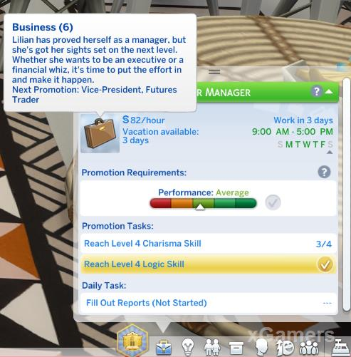 Senior Manager - Business Sims 4