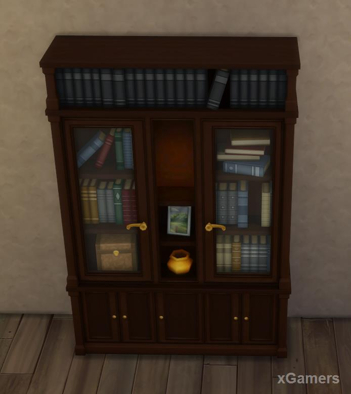 Book rack - President company: Sims 4