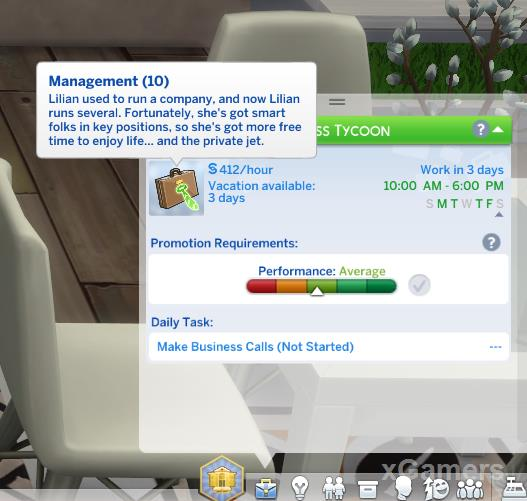 Business Tycoon - Sims 4