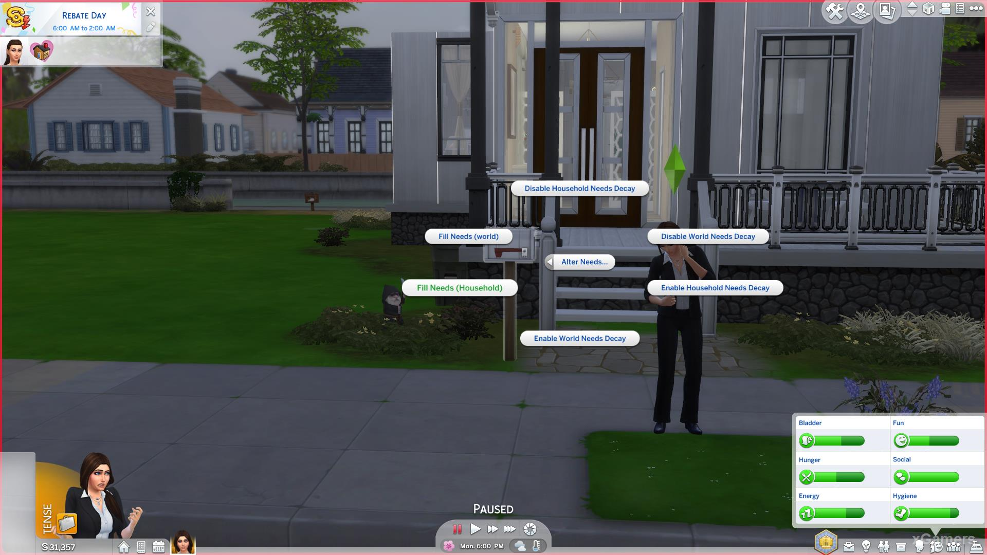 Cheat code: The Sims 4 Business Career