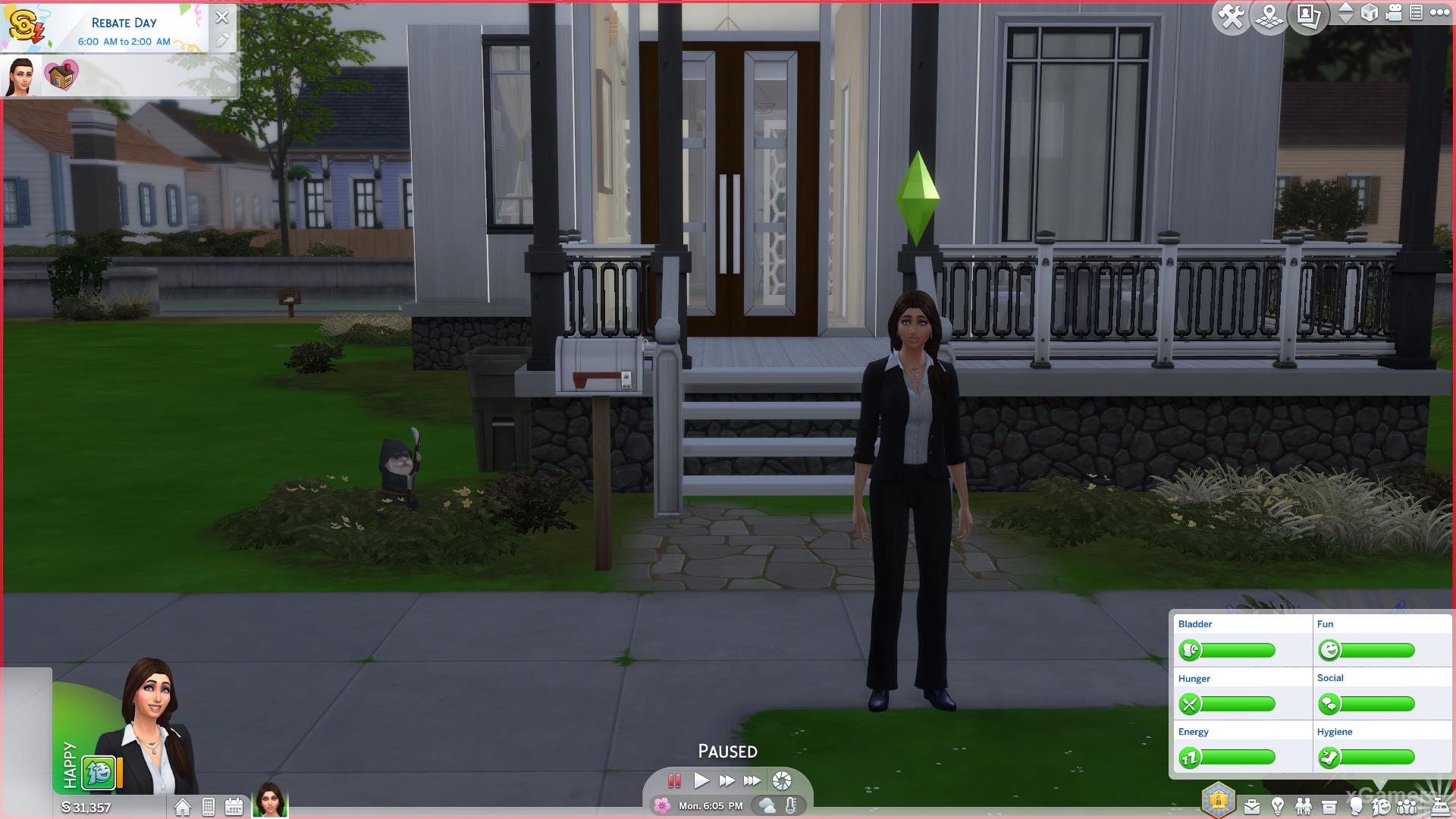 Using cheat code in Sims 4 - Business Career