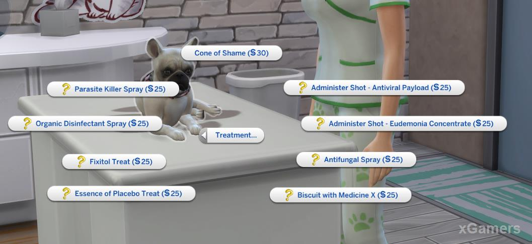 Before accurate diagnosis, the treatment menu is as follows