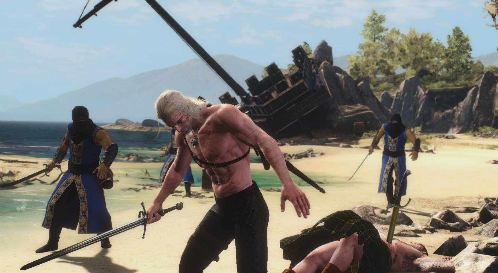 Task first evil shoots in the witcher 3