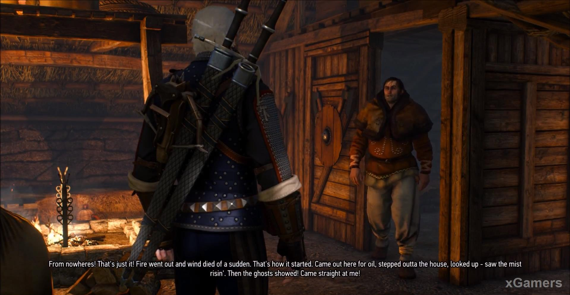 Completing quests in the game the witcher 3