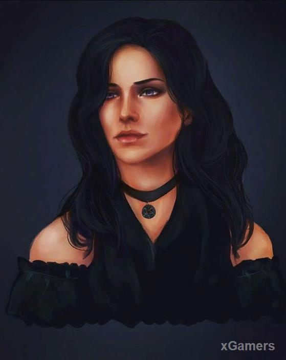 The Witcher 3: Yennefer - portrait