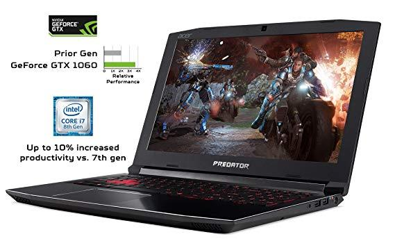 Acer Predator Helios 300 - best gaming laptop for 1000