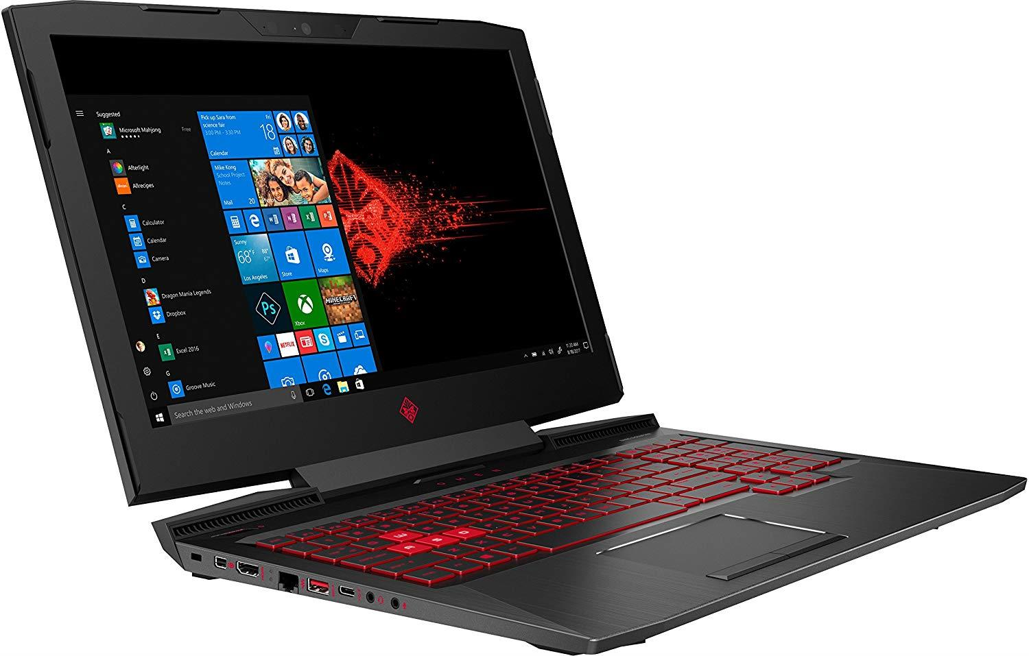 HP 15-CE198WM 15.6″ FHD Gaming Laptop, Windows 10, Intel Core i7-8750H Processor, NVIDIA GeForce GTX 1060 Graphics, 16GB DDR4 SDRAM Memory, 1TB Hard Drive + 256GB SSD