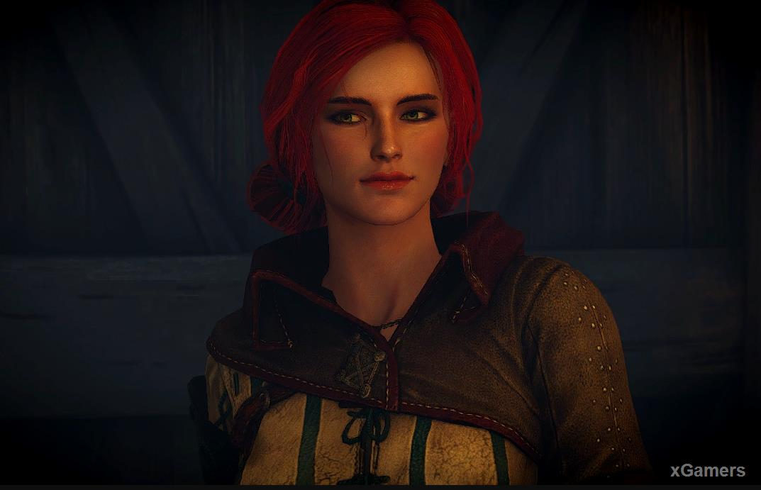 The Appearance and Character - Triss Merigold in the Witcher 3