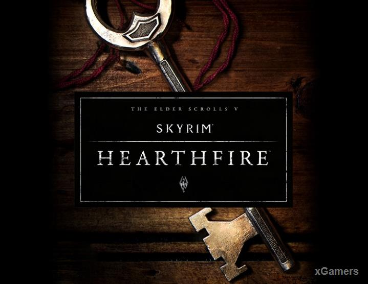 Skyrim Hearthfire - Building the Homestead, Adding Furniture, Family Life