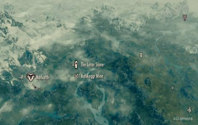 Skyrim Lover Stone | Constellation | Location | Comparison with other Stones