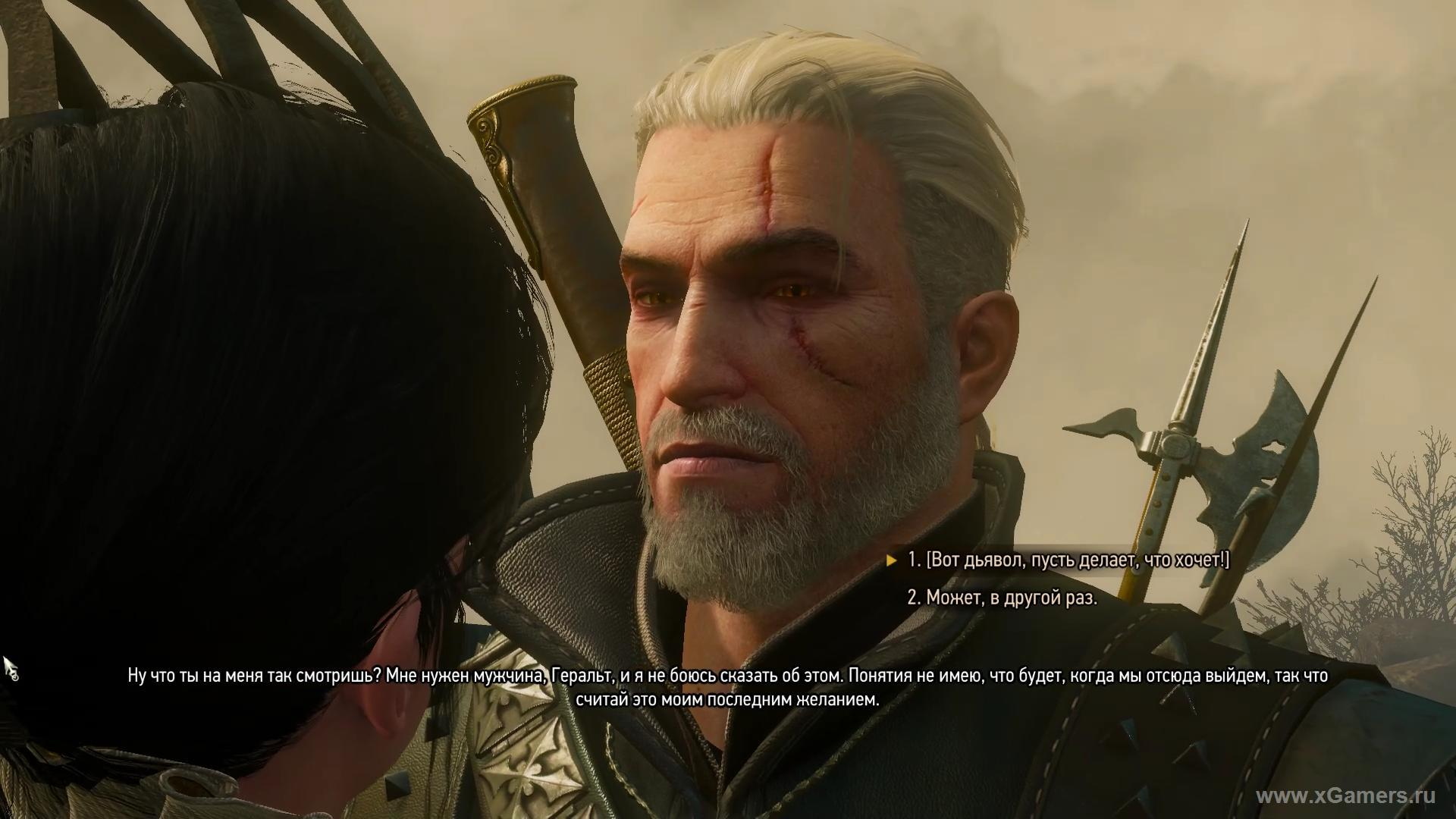 Witcher 3 a long time ago ending