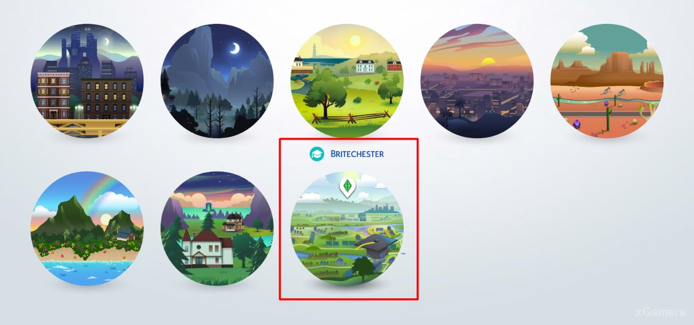 In the Sims 4 for the gameplay was created - Britechester