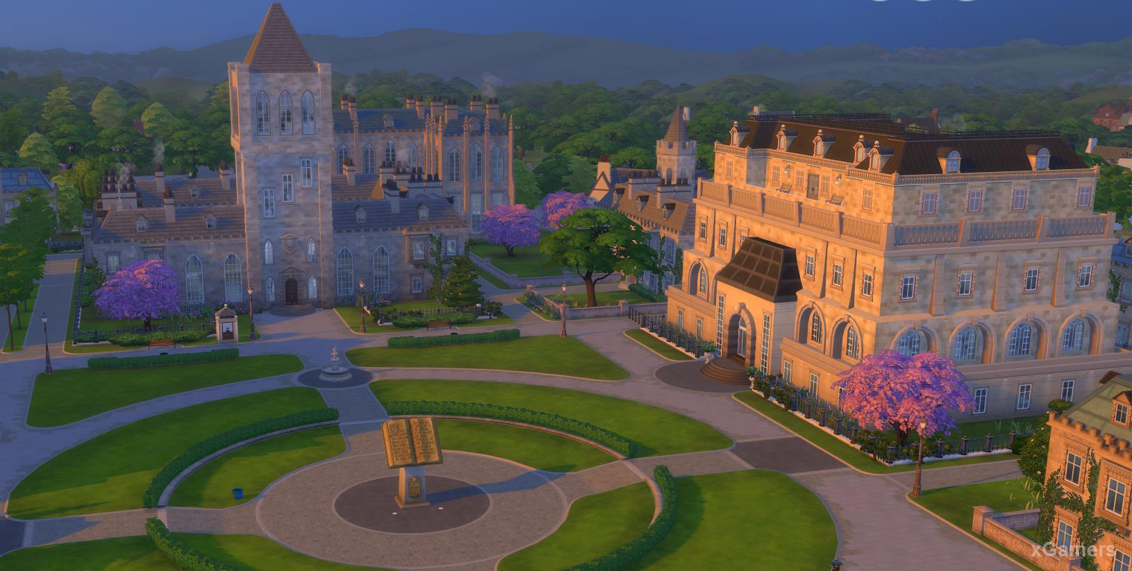 Britechester University Area - the Sims 4