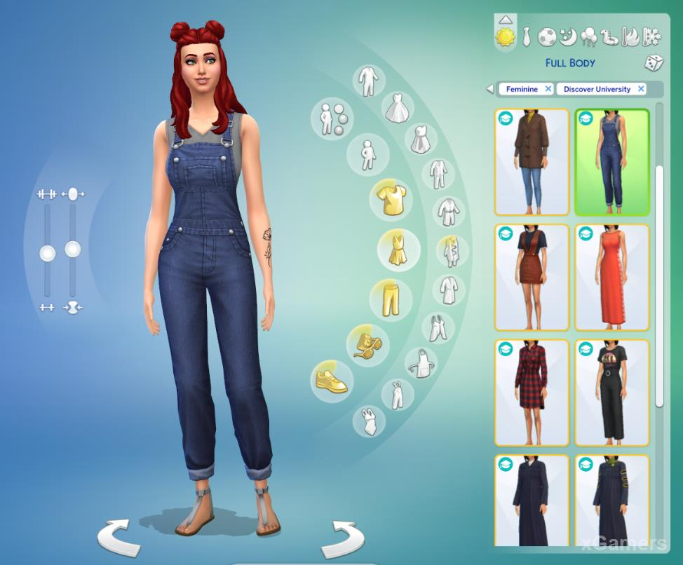 In game added: new clothes, hairstyles, tattoo etc
