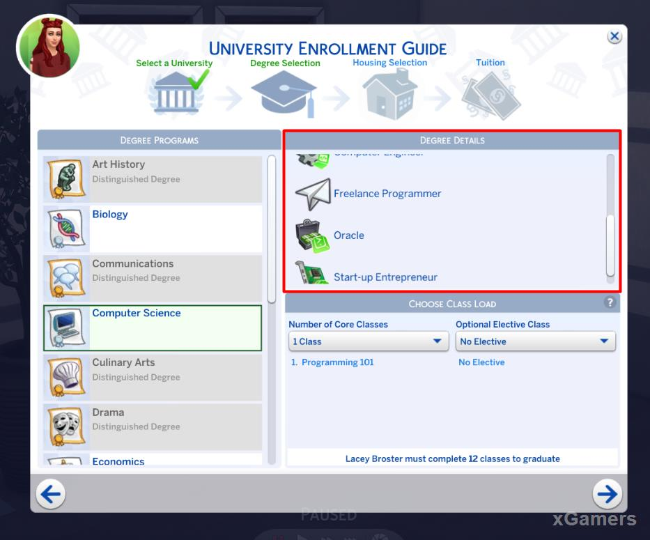 University Enrollment Giude