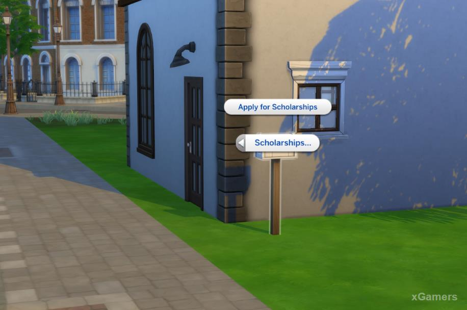 Apply for Scholarships - the Sims 4