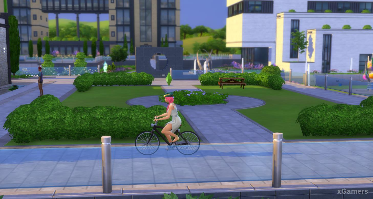 In the game were added additional ways of movement in the form of bicycles