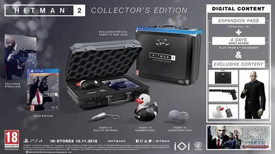 Hitman 2 - Exclusive content: collector s edition