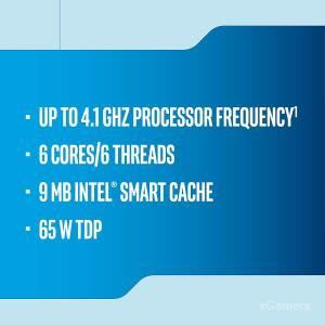 I5 up to 4.1 Ghz processor Frequency