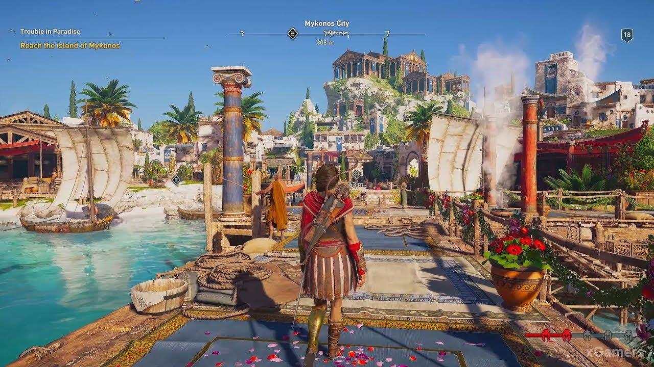 Assassins Creed Odyssey Review: Mykonos City