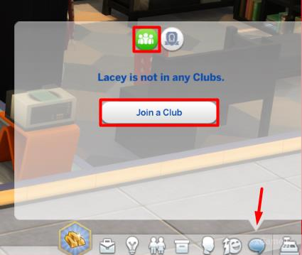 Join a Club - The Sims 4: Get Together