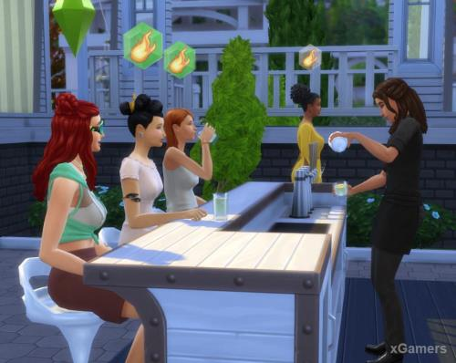 The Sims 4: Get Together | Clubs: Joining, Creation | Club activity | Additional features of the set